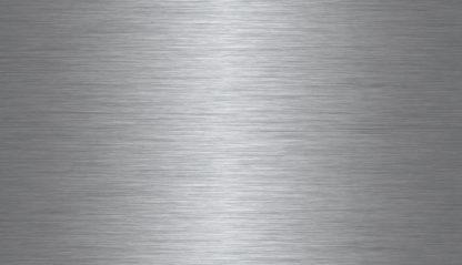 EnduraSteel™ Brushed Stainless Steel finish view