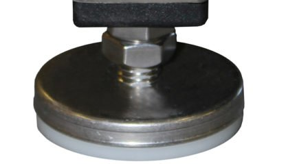 EnduraSteel™ Stainless Steel leveling foot detail view