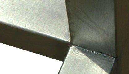 EnduraSteel™ Stainless Steel welded joints detail view