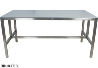 EnduraSteel™ Stainless Steel Table with HDPE Top