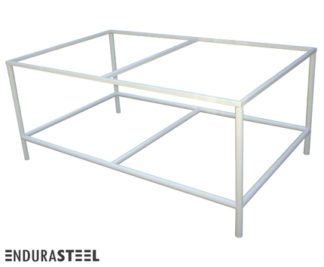 EnduraSteel™ Economical Powder-Coated Mild Steel Frame with EnduraSteel logo