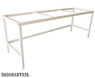 EnduraSteel™ Economical Powder-Coated Mild Steel Square Tubing Frame with EnduraSteel logo