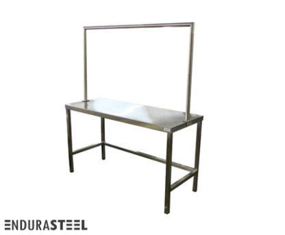 EnduraSteel™ Stainless Steel Clothes Sorting Table front view