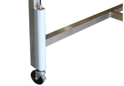 EnduraSteel™ Stainless Steel Automatic Four Post Electric Lift Exam Table lift post detail