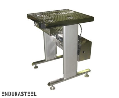 EnduraSteel™ Electropolished Adjustable Height Stainless Steel Rod Top Table