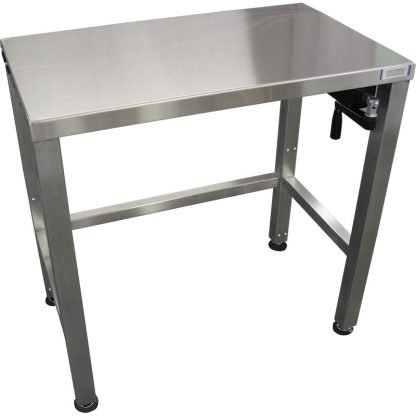 EnduraSteel™ Stainless Steel Manual Four Post Prep Lift Table main product view