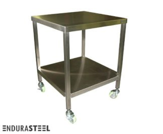 EnduraSteel™ Stainless Steel Mobile Tooling Table with EnduraSteel logo
