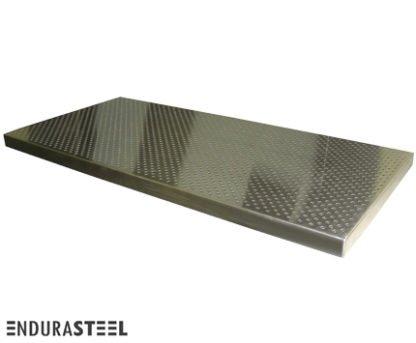 EnduraSteel™ Stainless Steel Perforated Table Top Upgrade