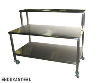 EnduraSteel™ Stainless Steel Mobile Mechanic Workstation front view