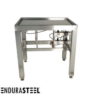 EnduraSteel™ Stainless Steel Anti-Vibration Table with EnduraSteel logo