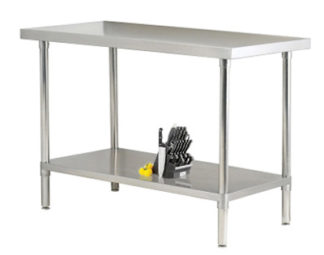 EnduraSteel™ Stainless Steel Budget Friendly Table