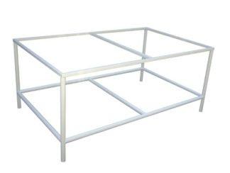 EnduraSteel™ Powder Coated Mild Steel Table Frames for building custom glass tables and more