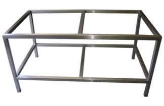 EnduraSteel™ Stainless Steel Table Frames for building custom glass tables and more